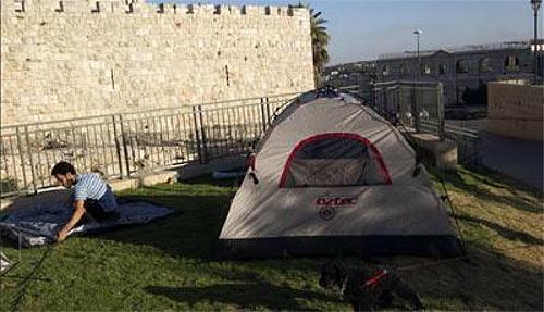 manifestation en Israël