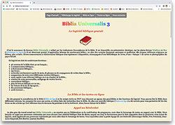 gratuitement biblia universalis
