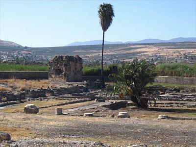 ruines à Magdala