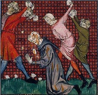 Lapidation pour viol du sabbat