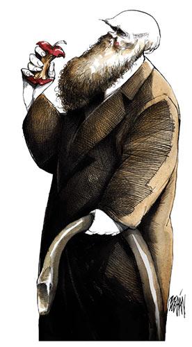 Darwin et la pomme