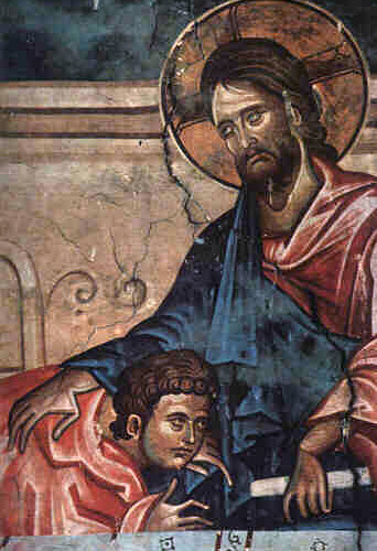 Jésus et le disciple bien aimé