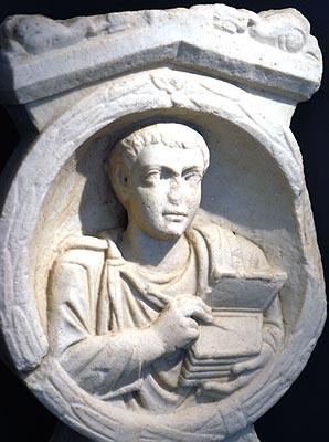Scribe romain