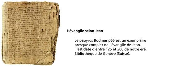 paypyrus Bodmer p66