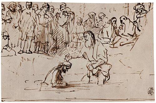 ceux qui viennent se faire baptiser par Jean