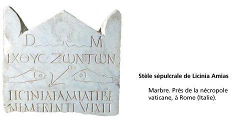 stèle sépulcrale de Licinia Amias