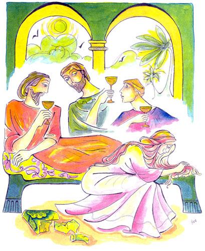 De Peu Reconnue Femme BéthanieUne La Prophétesse jc54AL3Rq