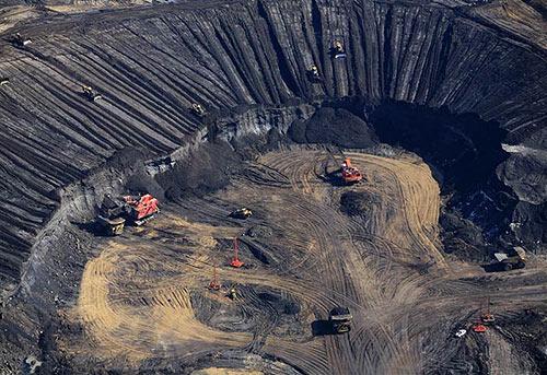 L'exploitation des sables bitumineux de l'Alberta