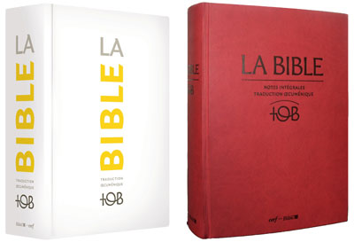 la sainte bible tob